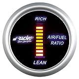 Simoni Racing AFR/D Indicatore Digitale di Rapporto Aria - Carburante, Sfondo Nero...