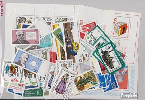 Prophila Collection DDR 2199-2286 (kompl.Ausg.) Jahrgang 1977 komplett 1977 Rubens, Verkehrsmuseum, Jagd u.a....