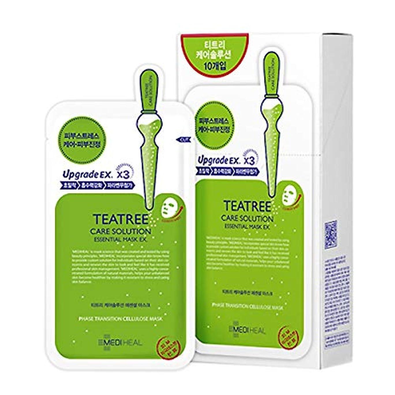 敬な元気価値Korea Mediheal Teatree Healing Essential Mask Pack 1box 10sheet