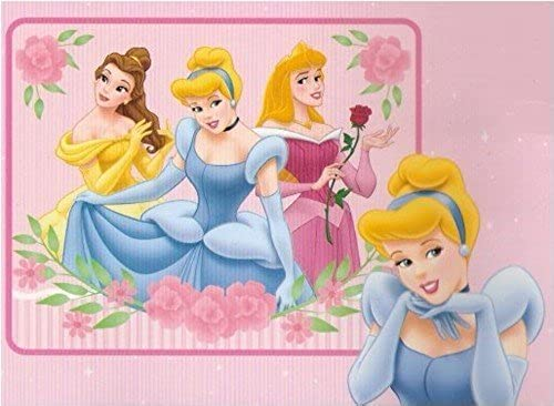 Disney Prinzessinen Fleece Decke