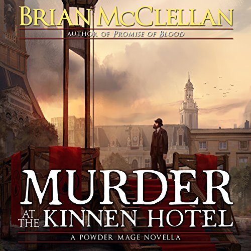Murder at the Kinnen Hotel audiobook cover art