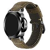 iStrap 20mm 22 mm 24 mm 26 mm Banda de Reloj Vintage Piel de Correa Acolchada Correa Panerai reemplazo Pulsera