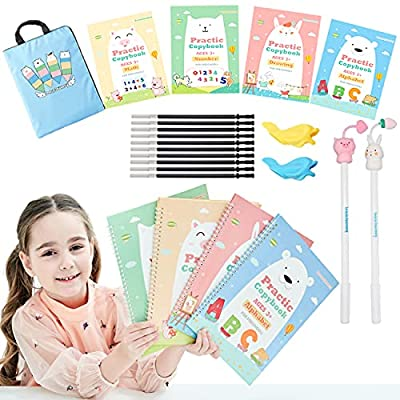 Amazon - 50% Off on Upgraded Large Size Magic Practice Copybook for Kids, Handwriting Practice Workbook