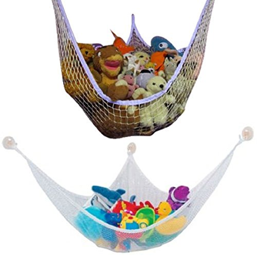 Cheapest Price! Changeshopping(TM) Large Deluxe Pet Storage Corner Stuffed Animals Toys Toy Hammock ...