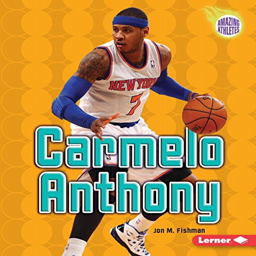 Carmelo Anthony audiobook cover art