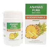 Ananas Pura Naturfarma 50 Vegan capsule da 500 mg di Estratto Secco ad...