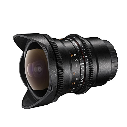 Walimex Pro Objektiv Fisheye 12 mm/3,1