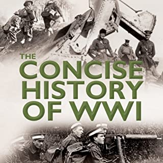 The Concise History of WW1 cover art