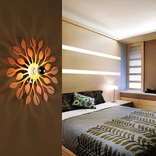 Flor apliques la sombra Europea focos de iluminación pared de registro simple lámpara de la mesita redonda con sala de E27 en la entrada de la cocina balcón