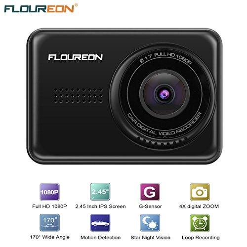 FLOUREON GPS de Voiture 7 Pouces, GPS Navigation Auto LCD à Ecran Tactile Système de...