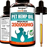 Natural Hemp Oil for Dogs & Cats - 70 000MG - Premium Hemp Extract - Anxiety Relief for Dogs - Grown & Made in USA - Omega 3, 6 & 9 - Supports Hip & Joint