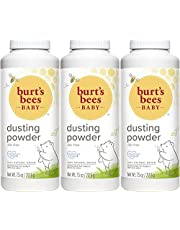Burt's Bees Baby 100% Natural Dusting Powder, Talc-Free Baby Powder - 7.5 Ounce Bottle (Pack of 3)3