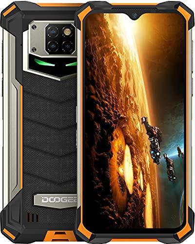 Rugged Smartphone, DOOGEE S88 Pro 4G Smartphone 10000mAh Carica Inversa,Impermeabile Lampada Respiratoria Mecha, 6.3 pollici, 6GB+128GB,21MP+8MP+8MP Tripla Fotocamera, IP68   IP69K Cellulare