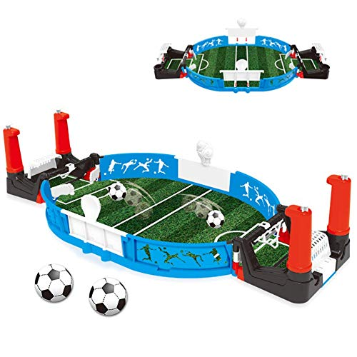 Tabletop Soccer Game Football Table Leuke activiteit Novelty Toy Kinderen Interactive Board Speeltoestel for Kids volwassenen Sports Verjaardagsfeest