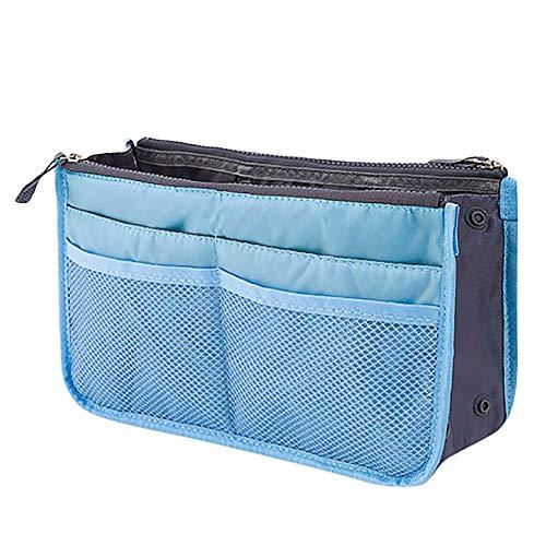 Fasclot Insert Handbag Organiser Purse Liner Organizer Women Storage Bag Tidy Travel Home & Garden Housekeeping & Organizers for Fourth of July