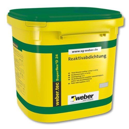 Weber.tec Superflex D 24 24Kg - Reaktivabdichtung