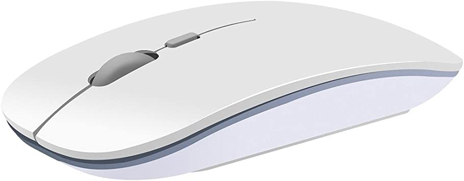 OHQ RatóN InaláMbrico De Silencio 2.4GHz USB InaláMbrico InaláMbrico 1600DPI Optical Pro Gaming Mouse Ratones para PC PortáTil Combo InaláMbrico De ...