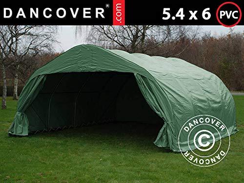 Dancover Dubbele garage tent 5,4x6x2,9m PVC, Groen