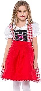 Girls' Oktoberfest Costume Lederhosen Uniform