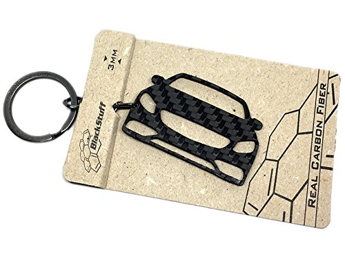 BlackStuff Carbon Karbonfaser Schlüsselanhänger Kompatibel mit S Class Coupe C217 2014-2019 BS-607
