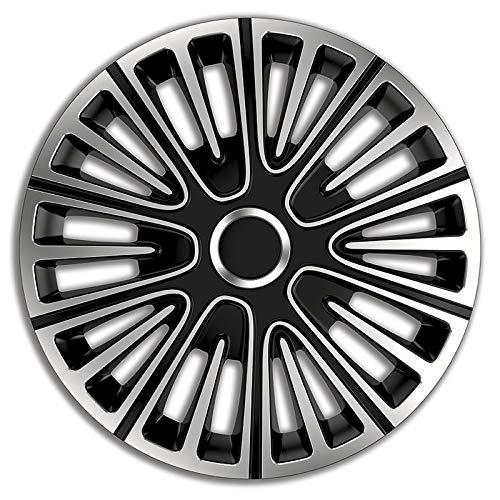 Radkappen Radzierblenden 4 Stück kompatibel mit Trabant 15 Zoll - 18460