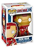 Funko Captain America Civil War Pop! Vinyl Bobble-Head Iron Man 10 cm Marvel...