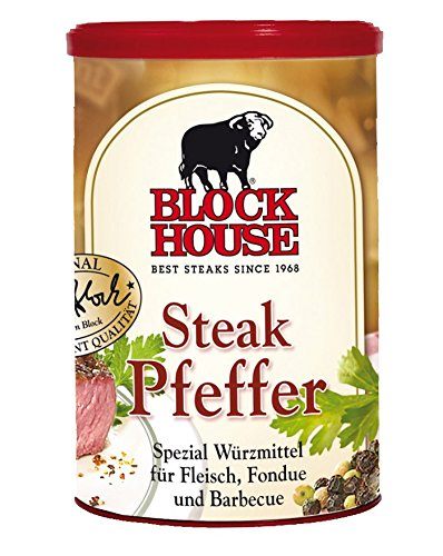 Block House Steak Pfeffer, Dose 12 x 200 g Gastropack