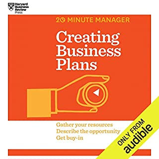 Creating Business Plans audiobook cover art