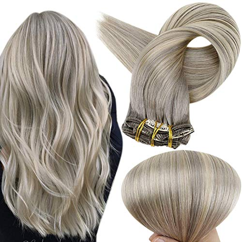 Full Shine Clip Hair Extensions 22 Inch Clips In Colored Hair...