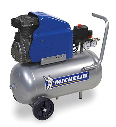Michelin - Compressore ad olio coassiale GB24, 2 CV, da 24 l