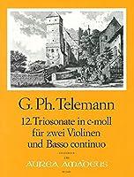 TELEMANN - Trio Sonata en Do menor (TWV:42/c 8) para 2 Violines y Piano (Pauler/Hess)