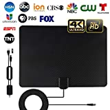 TV Antenna, 2020 Newest Indoor Amplified HD TV Antenna Up to 120-150 Miles
