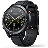 SANAG Smart Watch,Watches for iOS Android Phones Fitness Tracker Step Counter Calorie Sleep Health Monitor,Full Touch Screen Waterproof Sport Smartwatches,Compatible with iPhone Samsung Women Men