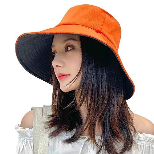 Mujer Sombrero de Pescador Senderismo Gorro de Cubo Plegable...