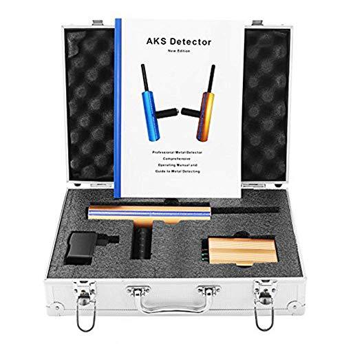 JINKEBIN Detector de Metales Detector de Metales Detector de Oro 3D Detector de Metal Profesional Rango de búsqueda 3280 pies. Detección de Profundidad 46 pies de Gemas y Metal Herramienta de Prueba