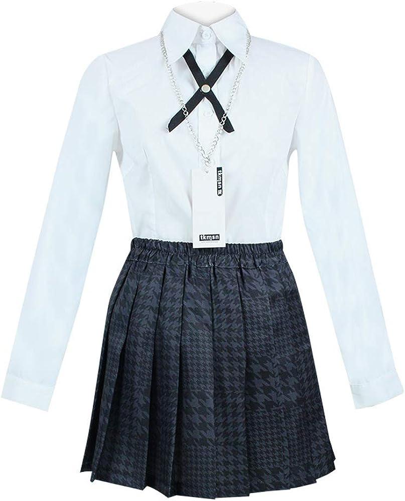 Rickem Anime Kakegurui Jabami Yumeko Costume Yomoduki Runa Momobami Kirari School Uniform Cosplay Full Set for Women