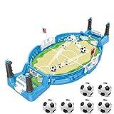 JDYDDSK Juegos de Mesa de fútbol de Mesa, Juegos de pies, Adecuado para Juegos Familiares, Power Shot Football Skills Board Board Juego para niños Adultos Mesa de fútbol,6 balles,L