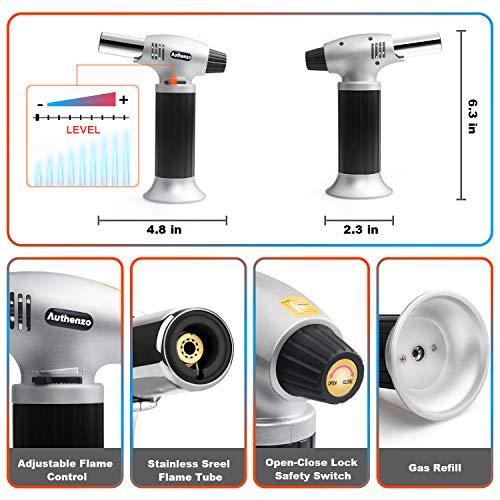 Authenzo Butane Torch Lighter