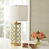 WDCKXY - Lámpara de noche LED, lámpara de mesa para dormitorio, salón, cama, lámpara retro