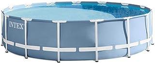 Intex 26736 457x122cm Family Pool Backyard Round Frame Pool Indoor Outdoor Swimming Pool