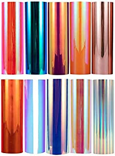 Holographic Opal Vinyl Chrome Vinyl Sheets 12