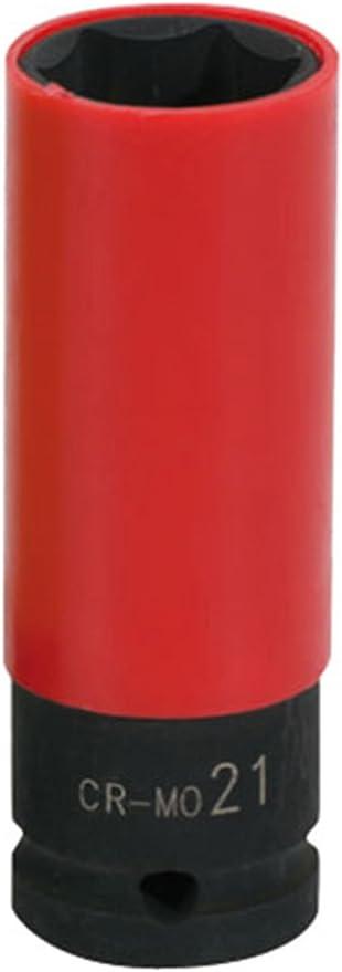 Kraftstecknuss lang für Stahlfelgen 19 mm 1 Stück