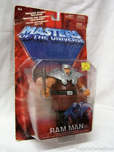 Masters of the Universe Ram Man Figure - Bronze Variant MOTU Red Card by Mattel