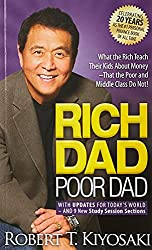"Front cover of ""Rich Dad Poor Dad"" by Robert T. Kiyosaki"