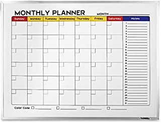 Meal Planner KKDragon Weekly Planner Whiteboard A3 Magnetic Dry Wipe for Fridge Cabinets and Any Smooth Surface Magnetic List Pad Magnetic Discs Eraser 40X30cm