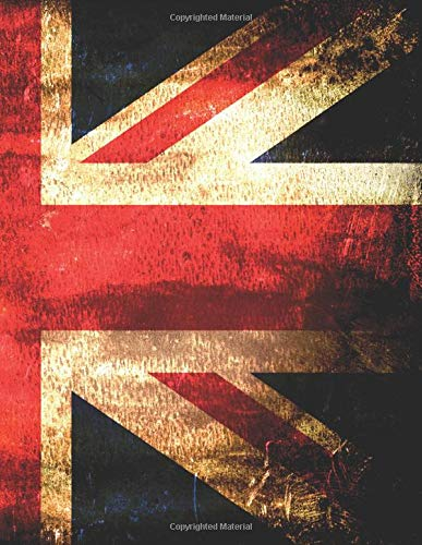British Union Jack Notebook: College Ruled Lined Sheets
