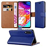 MAA Case For Galaxy A70 Phone Case Leather Magnetic Flip