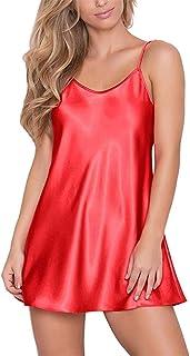 Women's Lingerie Sexy Nightwear Sleepwear Spaghetti Strap Sleepwear Underwear Lingerie Short Nightdress