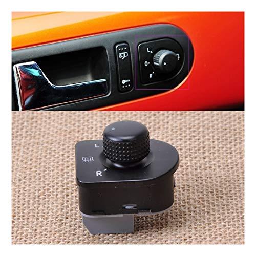xy Control de Espejo Interruptor eléctrico Espejo retrovisor Lateral Perilla de Control for VW Passat Volkswagen Golf IV Variant Escarabajo Bora Interruptor de Control de Espejo retrovisor