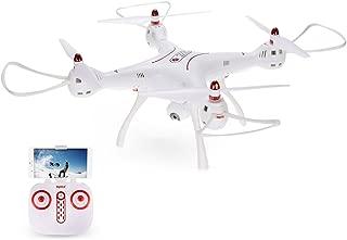 Kiditos Hobbitos Syma X8SW-D Radio Control 90 Degree Rotatable Wi-Fi FPV Camera Drone, Altitude Hold Mode, One Key Take Off Landing RC Quadcopter